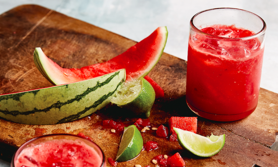 Watermelon Refresher (Agua de Sandia)