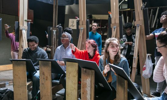 Teenagers' Art Pilgrimage to New York City