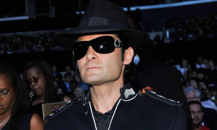 Corey Feldman attends Michael Jackson's Public Memorial Service held at Staples Center on July 7, 2009 in Los Angeles, California. (Photo by Kevin Mazur/MJ Memorial via Getty Images)