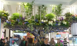 Macy's Opens Floral Fantasy Show 'Once Upon a Springtime'