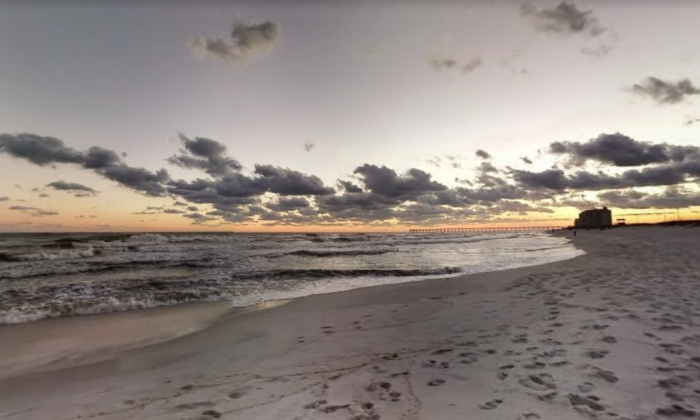 Navarre Beach, Florida. (Screenshot via Google Maps)