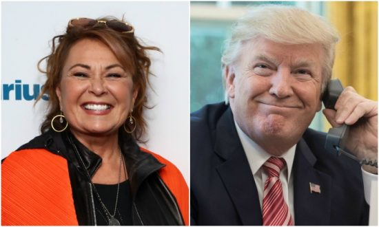 Trump Called Roseanne Barr After Blockbuster Premiere of Her Show