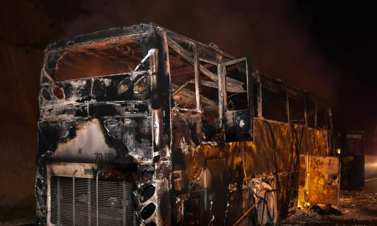 Fire Kills 20 Myanmar Migrant Workers on Bus in Thailand