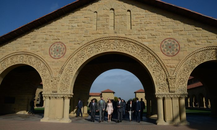 A file photo of Stanford University in Palo Alto, California on Nov. 14, 2013. (Photo by C Flanigan/Getty Images)