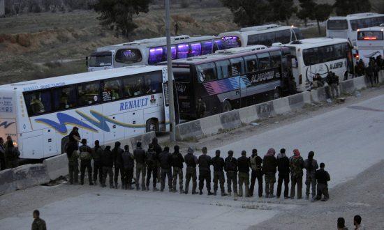 Last Eastern Ghouta Rebels Poised to Surrender: Syrian State Media