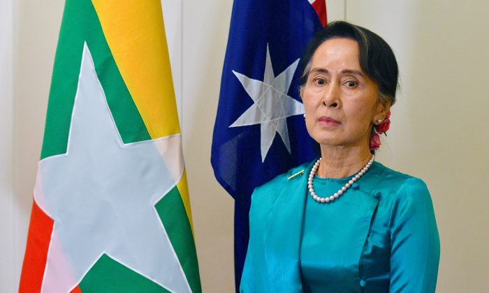 New Myanmar President sworn