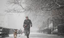 Snow Brings Wintry April Showers to New York City