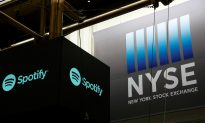 Spotify Shares Jump in Record-Setting Direct Listing