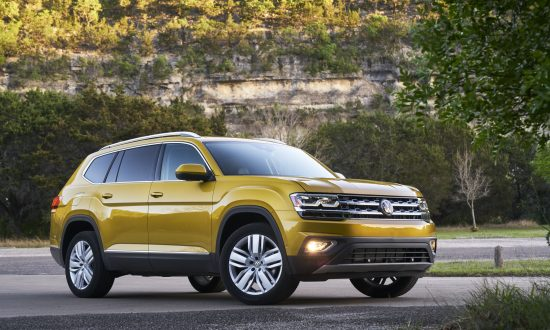 2018 Volkswagen Atlas V6 SEL with 4Motion