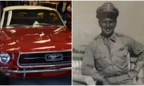 WWII Vet has had vintage Mustang for 40 years, but when man comes to restore it—unthinkable happens