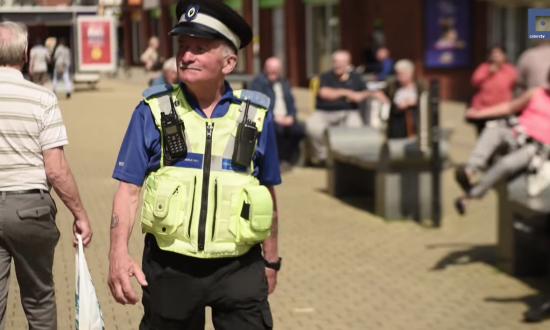 This man is Britain's oldest police community support officer—You'll never believe how old he is