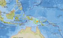 Earthquake Measuring 6.3 Magnitude Strikes Papua New Guinea