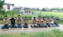 7 Burmese Soldiers Sentenced to 10 Years for Rohingya Killings