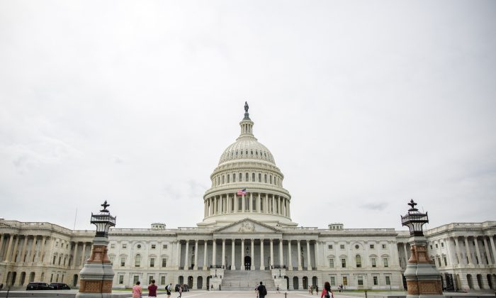 The Capitol, in Washington on Sept. 22, 2017. (Samira Bouaou/The Epoch Times)