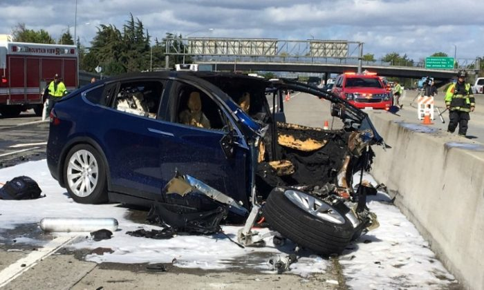 Family of man killed in Tesla vehicle  crash hires law firm