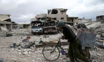 Syrian Government Raises Flag in Douma: Russian Agencies