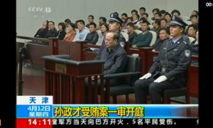 Sun Zhengcai, Former Contender to Succeed Chinese Communist Party Leadership, Admits Taking Millions in Bribes