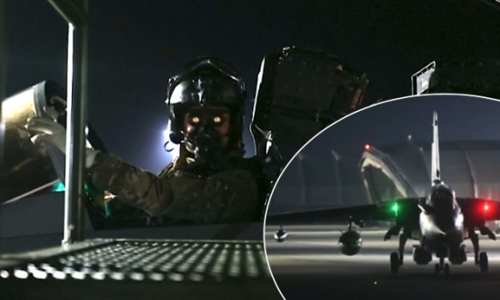 British Jets Take off from Cyprus Base Before Hitting Targets in Syria