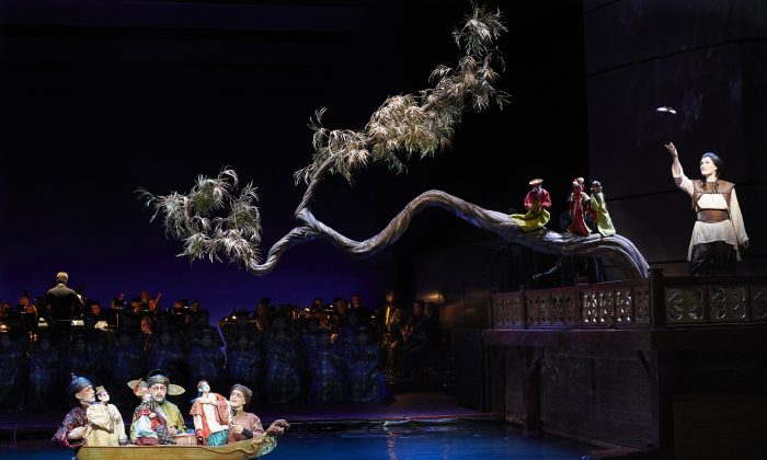 "A scene from the Canadian Opera Company's production of ""The Nightingale and Other Short Fables."" (Michael Cooper)"