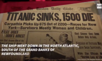 Titanic Sank 106 Years Ago