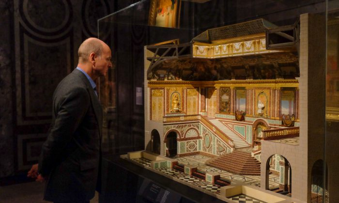 """H.R.H. Prince Dimitri of Yugoslavia visits the exhibition, """"Visitors to Versailles (1682–1789)"""" during a preview at The Metropolitan Museum of Art, on April 9, 2018. (Hirosh Nogami/The Epoch Times)"""