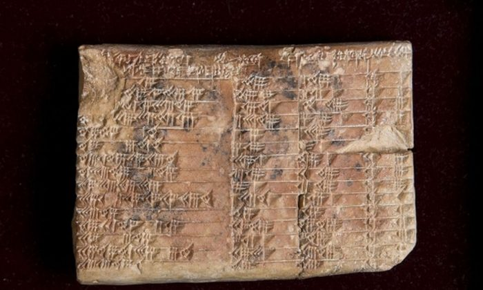 3,700-Year-Old 'Mystery' Babylonian Tablet Gets Translated