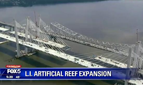 New York Will Throw an Old Bridge Into the Sea to Make Fake Reefs