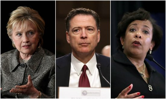 11 Congressmen Urge Criminal Probe of Clinton, Comey, Lynch, and 6 Others