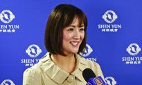Japanese Actress Feels She's in Heaven While Watching Shen Yun