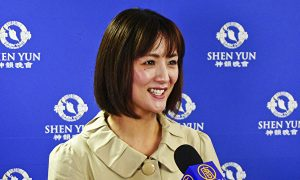 Japanese Actress Feels She's in Heaven While Watching Shen Yun
