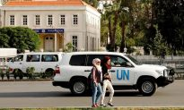 UN Team Fired Upon in Syria While Visiting Suspected Chemical Sites