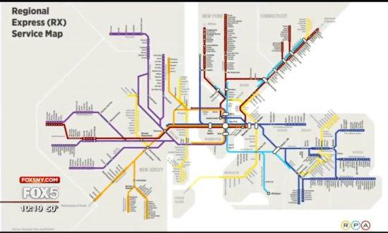 Nonprofit Proposes Ambitious Mega-Transit Proposal to Improve NYC's Economy
