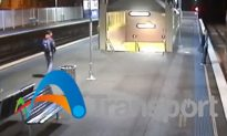 Man Narrowly Avoids Collision With Sydney Train After Jumping Onto Tracks