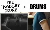 Drummer Masterfully Fits Beats to Tense 'Twilight Zone' Scene—This May Stick in Your Head