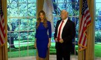 Madame Tussauds Reveals Its Melania Trump Wax Figure