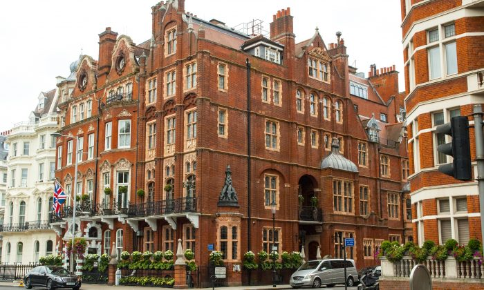 Milestone Hotel in Kensington. (Carole Jobin)