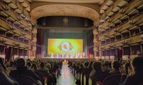 Mario Luca Giusti Feels Strong Energy From Shen Yun Dancers