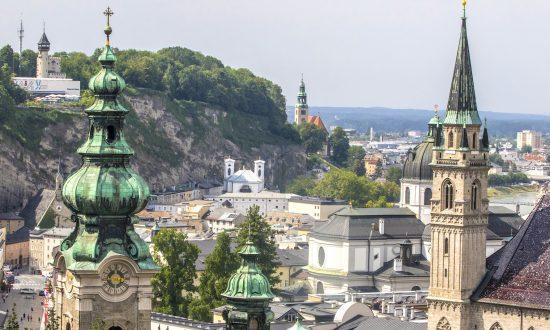 Music in the Air in Salzburg, Austria