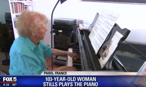 Local Legend Still Playing Piano at 103 Years Old