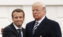 Trump Welcomes France's President Macron to White House