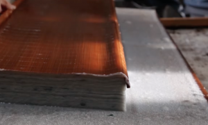 Video shows handmaking of Japanese paper—But it's unimaginably soothing to see