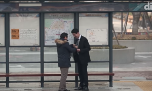 Man asks strangers to help him tie his tie, but what strangers end up doing instead—my heart bursts