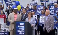 Rally to repeal rent-control limits in California
