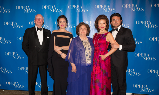 Opera News Honors Distinguished Artists