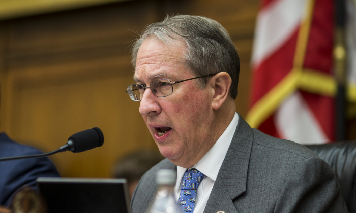 House Judiciary Committee Chairman Bob Goodlatte (R-VA) on December 13, 2017 in Washington, DC. (Zach Gibson/Getty Images)