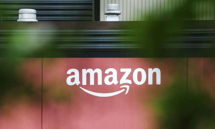 Amazon Fulfilment Center  (YVR3) is pictured in New Westminster, British Columbia, Canada April 30, 2018. (Reuters/Ben Nelms)