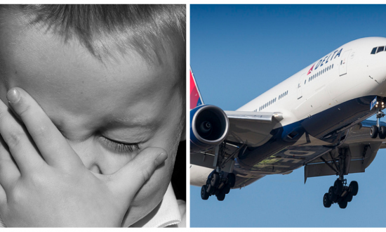 Mom with baby on 15-hour flight. But 3 hours in—things don't go to plan