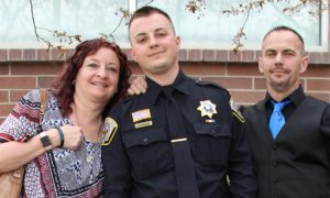 Cop killed in the line of duty. But what brother does in the wake of his death—his legacy lives on