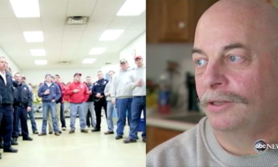 When man has cardiac arrest, a line forms around him. But what people do to him—paramedics shocked