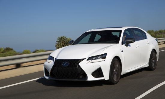 2018 Lexus GS F 4-Door Sedan